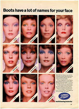 Boots Chemist Cosmetics 1972 Magazine Advert #17776