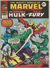 The Incredible Hulk and Fury #289 : Vintage Comic book : April 1978