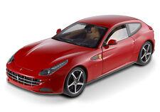 Hot Wheels Elite Ferrari FF V12 FOUR SEATER FOUR WHEELS DRIVE Red 1/18