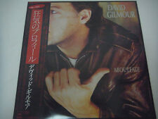 DAVID GILMOUR-About Face JAPAN 1st. Press w/OBI Pink Floyd Yes Genesis Rush