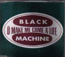 Black Machine-U Make Me Come A Life cd maxi single Italo Dance
