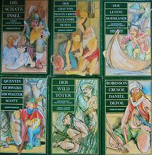 Buchpaket  Sammlung  7   Roman Klassiker der Weltliteratur  Egmont-Verlag