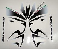 Aprilia DORSODURO 750 2008 nero bianco - adesivi/adhesives/stickers/decal