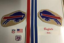 NFL Full Size Buffalo Bills Current Helmet Decal Set With 60 Season Decals