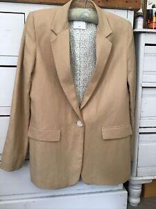 Sandro Camel Blazer Size Jacket Size  36 8