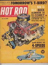 HOT ROD Magazine / July 1962 / Comet Gets a Second Stage / NHRA El Passo