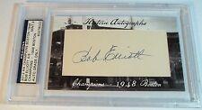 2012 Historic Autographs Champions Bob Elliott 4/6 HA auto 1948 Boston Braves
