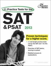 College Test Preparation Ser.: 11 Practice Tests for the SAT and PSAT, 2013 Edi…
