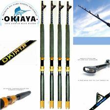 OKIAYA FISHING RODS 80-130LB BLUELINE(4 PACK) FISHING POLE for PENN SHIMANO 6FT