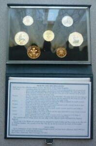 1985 GREAT BRITAIN / NORTHERN IRELAND UK - OFFICIAL PRESTIGE PROOF SET (7) w COA