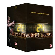 24 The Complete Series Collection Season 1 - 9 Redemption Region 2 DVD