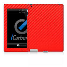 iPad Skin (2nd & 3rd Gen) - Red Carbon Fibere skin by iCarbons