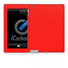 IPad Skin (2nd & 3rd Génération) - Rouge Carbone Fibere Peau par icarbons