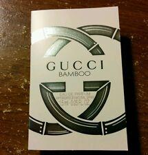 Gucci BAMBOO Eau de Parfum sample / travel vials 1.5 ml / 0.05 oz each