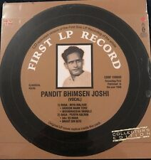 Pandit Bhimsen Joshi - First LP Record. CD. Collectors Edition. NEW. SEALED.