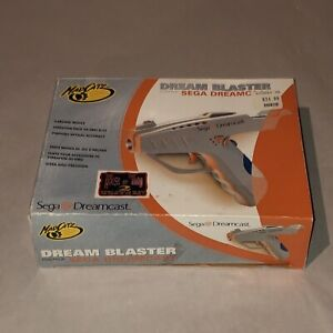 Dream Blaster For Sega Dreamcast Light Gun MadCatz Complete CIB New Unused NRFB