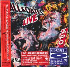 DARYL HALL & JOHN OATES-LIVE AT THE APOLLO-JAPAN MINI LP BLU-SPEC CD Ltd/Ed F25