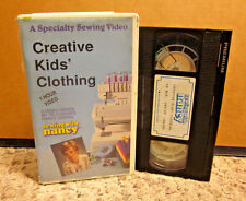 SEWING WITH NANCY fashion Creative Kids Clothing Projects craft Peek-A-Boo VHS