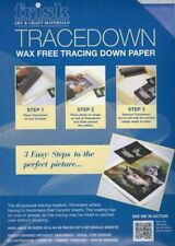Frisk Tracedown Paper - Graphite Blue Red Yellow White - A4 / A3 - 1 / 5 sheets