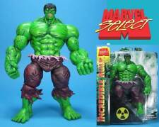 Action las figuras Incredible Hulk Marvel select 25 cm oficial por diamante