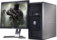 GAMING COMPUTER PC WINDOWS 10 INTEL CORE 2 DUO 8GB RAM 1TB HDD DESIGN UK SELLER