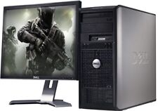 GAMING COMPUTER PC WINDOWS 10 INTEL CORE 2 DUO 8GB RAM 1TB HDD DESIGN UK SELLER