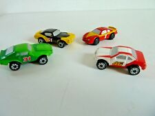 MICRO MACHINES 4 VOITURES COURSES NASCAR MUSCLE CAR CHEVY MUSTANG 69 GALOOB