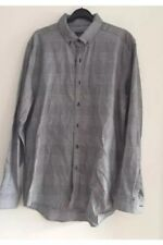 Topman Men's Black And White Long Sleeved Classic Fit Shirt Size L BNWOT
