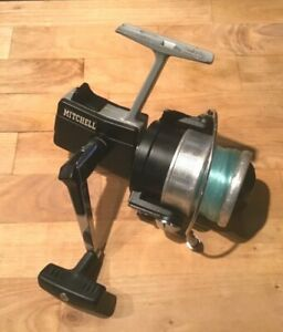Rare Vintage Fishing Spinning Reel Mitchell 4470 Heavy Duty