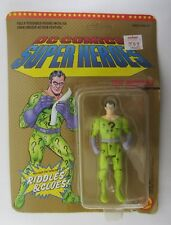 The Riddler ~ Poseable Figure ~ DC Comics ~ Toy Biz ~ Unpunched ~ 4411 ~1989