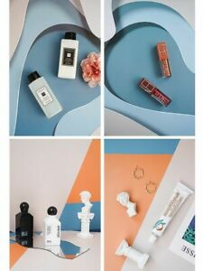 Toiletries Shoot Photography Backdrops Props 3D Pattern Sided Paper Board Kits