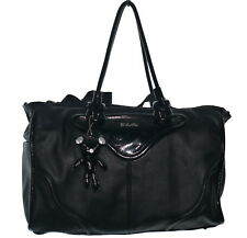 Il Tutto Brigitte Tote Black Luxury Baby Changing Nappy Bag Mummy Bag NWOT
