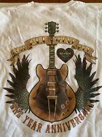 2XL XXL Hard Rock Cafe Atlantic City Casino Graphic T Shirt Tee Anniversary
