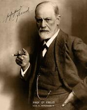 SIGMUND FREUD Father of Modern Psychoanalysis Photo & Autograph 8x10 RP