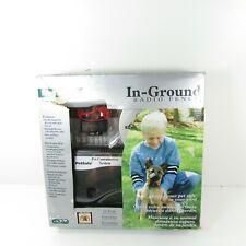 Pet Safe PetSafe Rf-3004W-11 Standard Radio In-Ground Pet Dog Fence Kit New