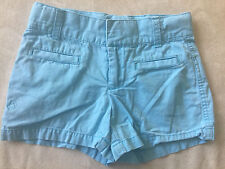 girls RALPH LAUREN SHORTS blue cotton CASUAL polo logo SUMMER bottoms size 6