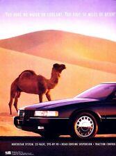 1993 Cadillac Seville 2-page Original Advertisement Print Art Car Ad J985