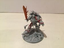 Warhammer 40k Space Marine Primarch Roboute Guilliman Basecoated