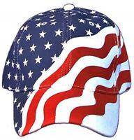 July 4th Patriot Pride USA  American Flag Buckle Red /& Blue Enamel FL104
