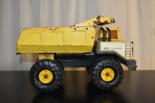 Vintage TONKA Metal Dump Truck XMB-975 Turbo Diesel PLAYED WITH CONDITION!