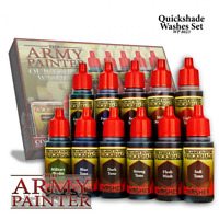 The Army Painter Quickshade Washes Set -  BNIB - FREE UK P&P