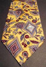 Tabasco Tie Silk Jacquard Geometric Floral Pattern