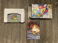 Super Mario 64 Complete in Box + Manual AUTHENTIC Nintendo 64 Game Boxed N64 CIB