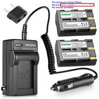 Kastar D-Li50 NP-400 Battery Charger for Pentax K20 K20D Minolta Maxxum 5D 7D