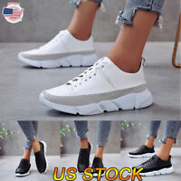 Women's Casual Sneakers Lightweight Gym Tennis Shoes Sport Athletic Running Shoe