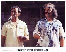 WHERE THE BUFFALO ROAM color still BILL MURRAY & PETER BOYLE -- (n252)