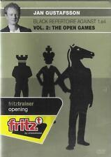 ChessBase - Gustafsson - The Open Games - Vol. 2 - Chess / Schach - NEW / NEU -