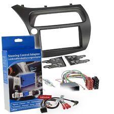 Honda Civic 8 06-12 2-DIN Radio Set Steering Wheel Remote Control Adapter