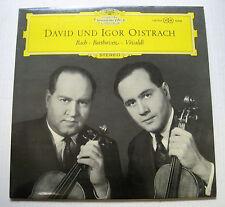 DAVID & IGOR OISTRACH bach beethoven vivaldi LP Deutsche Grammophon 138 714 SLPM