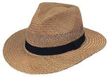Scippis Havanna Strohhut Natur Bogart Panamhut »BARROW« Sommerhut Panama Hut